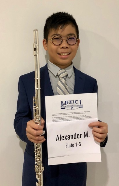 Alexander Maio- Bergen County Middle School Band