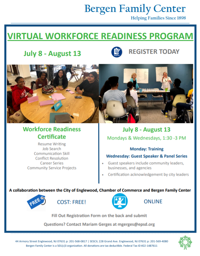 Workforce Readiness Program